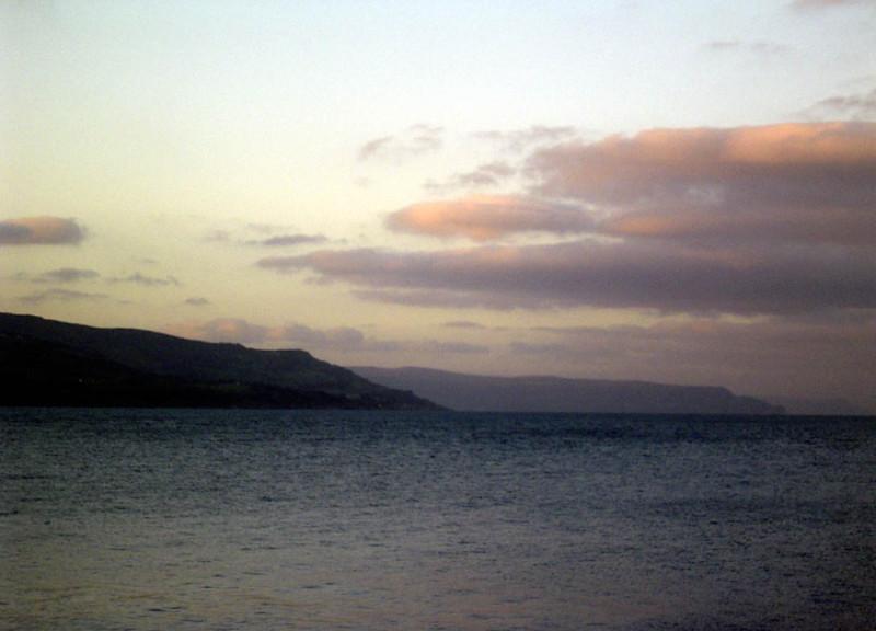 The coast north of Belfast