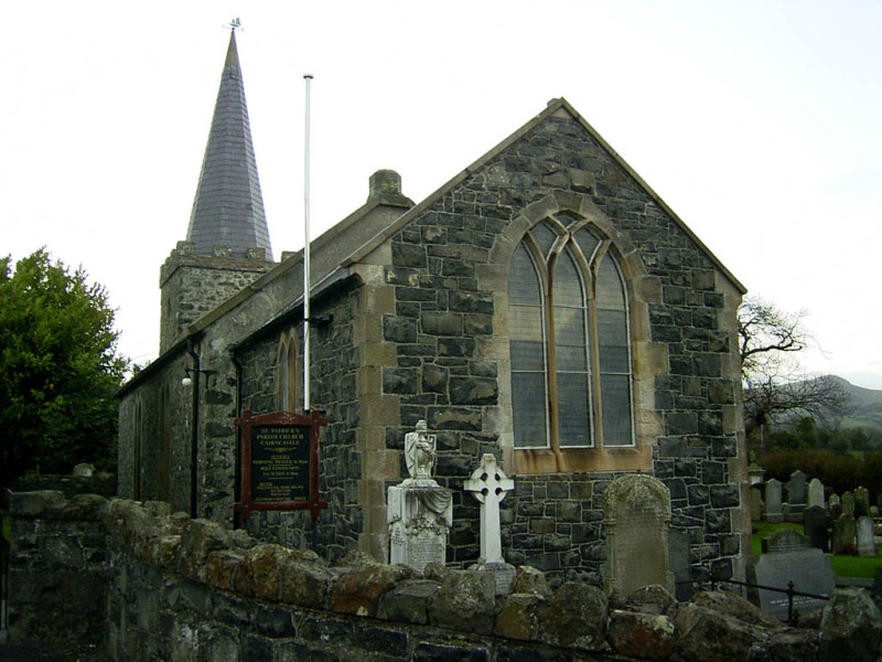 A church in the area of Cairecastle, where my ancestors are from.
