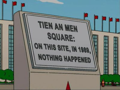From the 'Simpsons Go To China' episode.