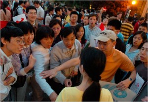 Grace Wang @ Duke Protest