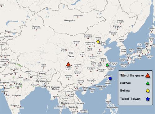 Sichuan Quake - May 12, 2008